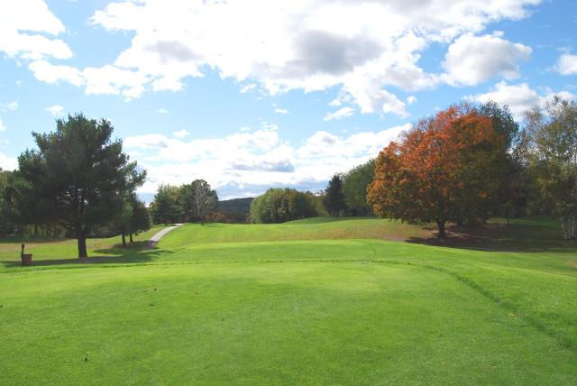 広いゴルフ場